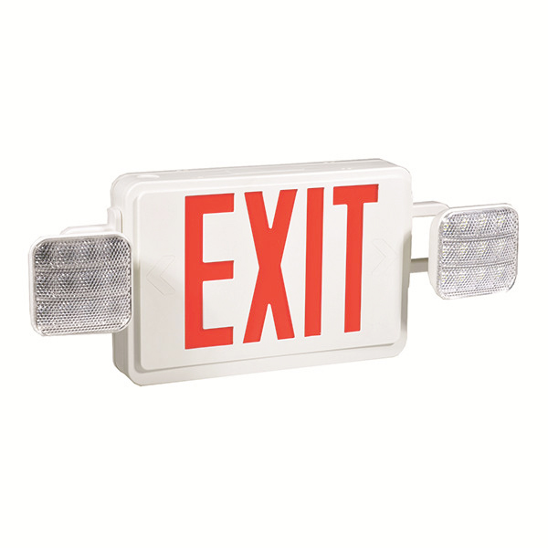 Emergency exit sign combo JLEC2RW Featured Image